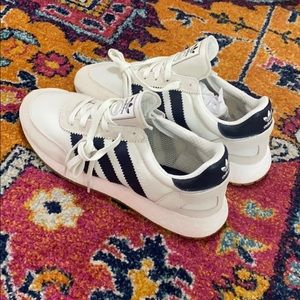 White/Navy Adidas originals